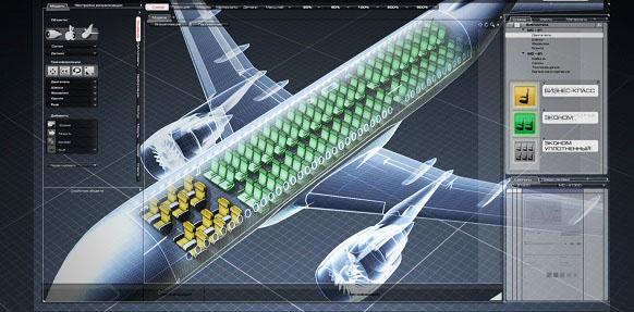 МС 21 1й среднемагистральный российский самолет