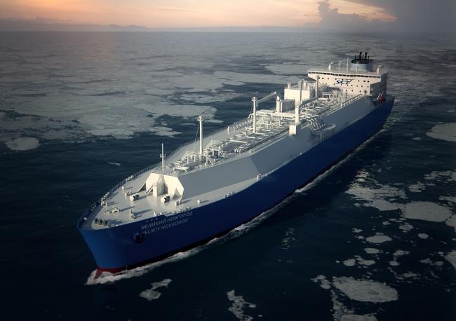 Перевозка сжиженного природного газа морским путем
