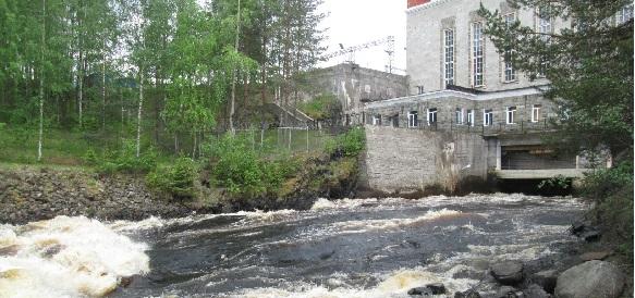 Гирвас, Карелия, малая ГЭС