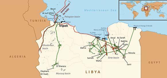 Ситуация в ливии член национального перехода