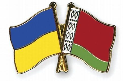 Флаги Украины и Беларуси
