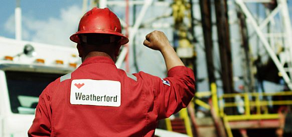 Weatherford signed deal to spin off its onshore drilling rig