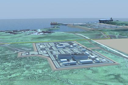 Роснефть на 2017 г наметила проведение проектные работы по строительству завода Дальневосточный СПГ