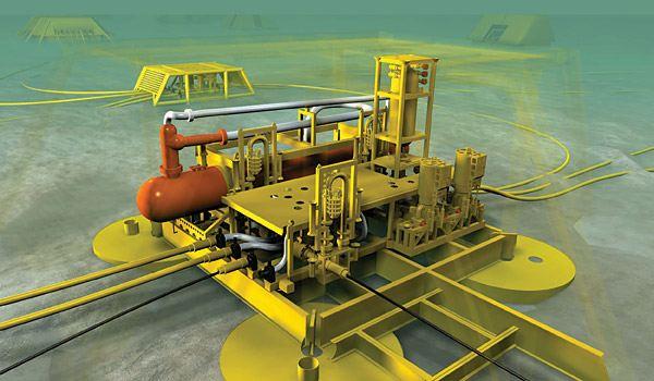 Подводный добычной комплекс пдк с