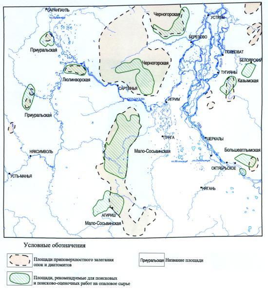 схема уренгойского месторождения