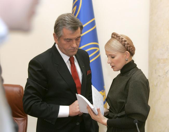 Ющенко написал гневное письмо Тимошенко