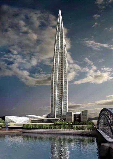 Самое высокое здание в петербурге