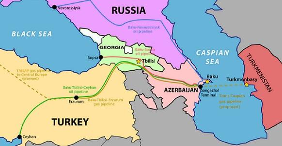 нефть, газ, каспийское море , трубопроводы