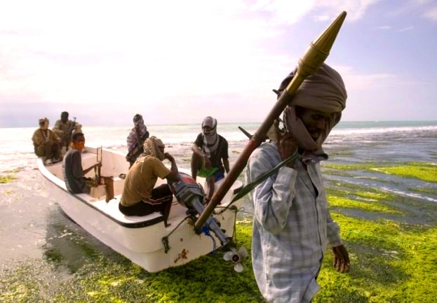ВСомали пираты захватили судно