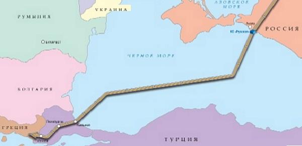Турецкий поток схема