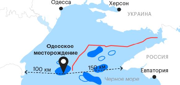 Россия отказывается от газового месторождения в пользу Украины