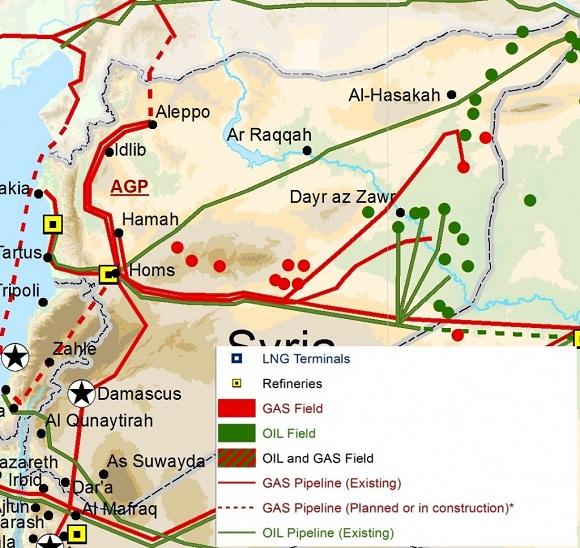ВСирии оценили потери нефтяного сектора страны запериод войны