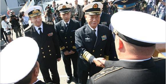 Общие с Китайская республика учения «Морское взаимодействие— 2017» начались вПриморье