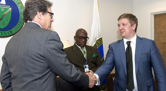Кистион обсудил спредставителем госсекретаря США реформу «Нафтогаза Украины»