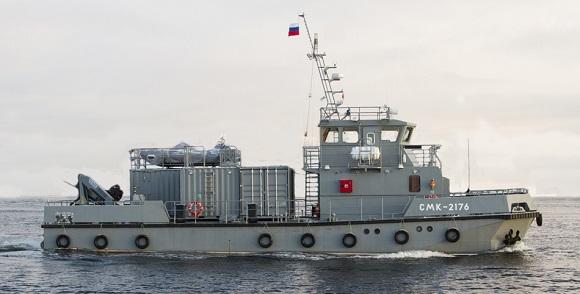 Водолазный катер обновленного поколения пополнил состав Тихоокеанского флота