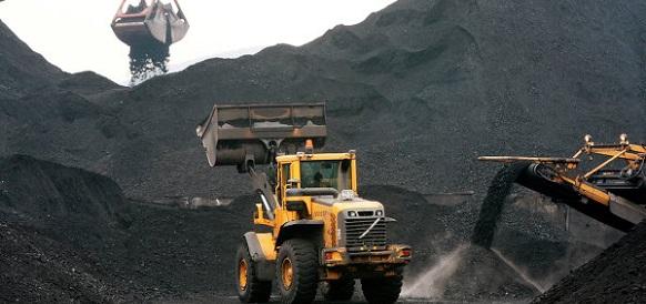 Уголь, добыча