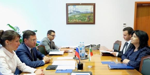 Миллер обсудил «Турецкий поток» сминистром энергетики Болгарии