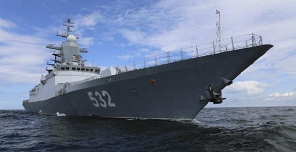 Неменее 70 кораблей Балтфлота вышли вморе напроверку боеготовности