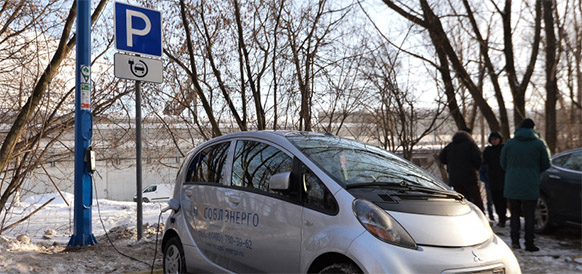 Московская область стала лидером по развитию инфраструктуры для зарядки электромобилей