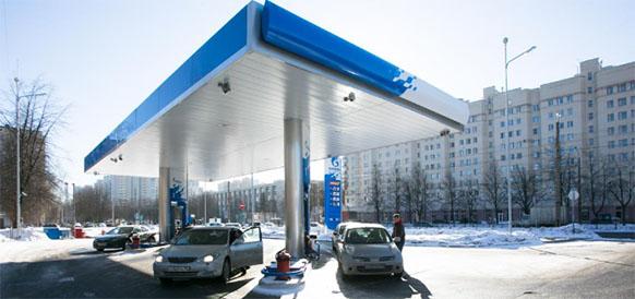 Автоматическая заправка Газпром нефти в Санкт-Петербурге