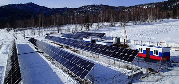 автономная гибридная энергоустановка
