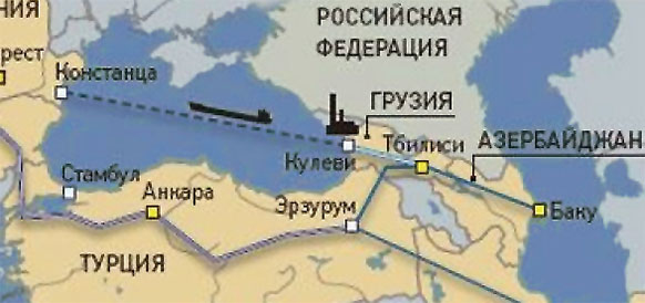 Система газопроводов Азербайджан - Грузия - Румыния (AGRI)