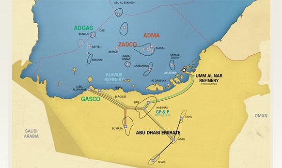 Месторождения нефти в Абу Даби