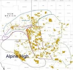 Apache Corp обнаружила крупное месторождение нефти в  Западном Техасе.