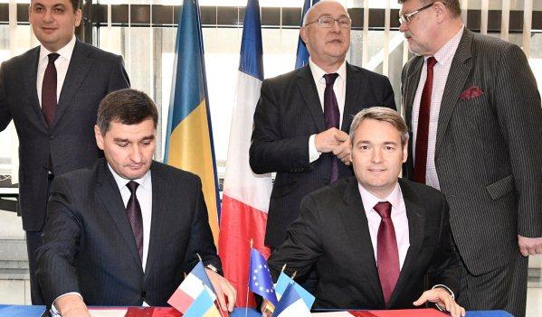 Анонсированы прямые поставки наУкраину газа французской Engie