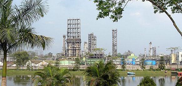 НПЗ на месторождении Digboi в Индии