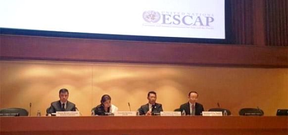 Замминистра энергетики РФ Кирилл Молодцов на заседании ЭСКАТО в Бангкоке