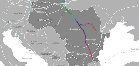 Study shows construction of Eastring gas pipeline is feasible