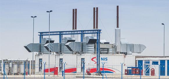 Мини-электростанция NIS на нефтегазовом месторождении Майдан