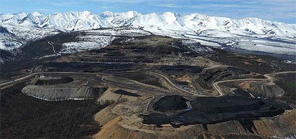 Эльгинское угольное месторождение на юге республики Саха (Якутия)