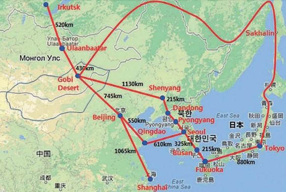 В. Путин хотел продвинуть в Китае проект Азиатского энергокольца