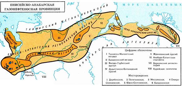 Енисей-Анабарская газонефтеносная провинция