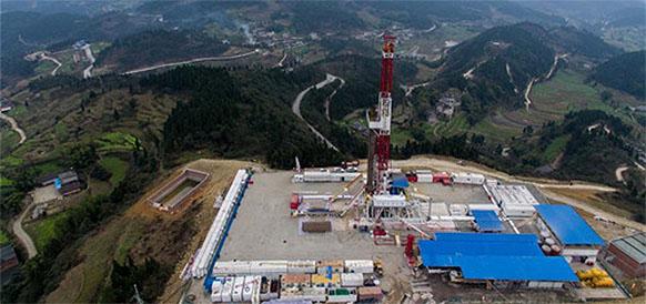 Месторождение сланцевого газа Фулин в Китае