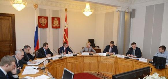 Совещание по вопросам газификации Смоленской области 15 февраля 2017 г
