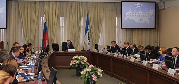 Совещание в правительстве Иркутской области по деятельности Газпром геологоразведки
