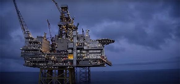 Месторождение Gina Krog в Северном море