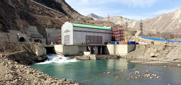 Гоцатлинская ГЭС в республике Дагестан