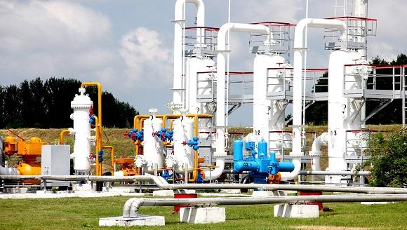 Украина наполовину заполнила хранилища газа