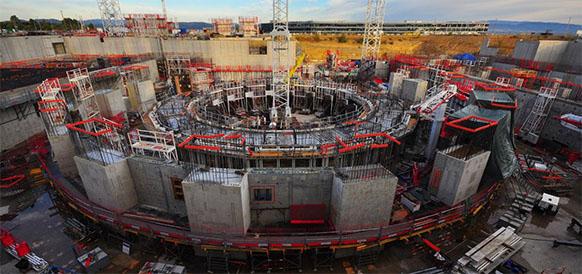 Площадка строительства международного термоядерного экспериментального реактора ИТЭР