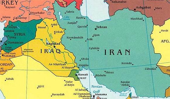 Иран, Ирак