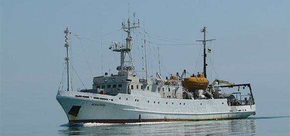 Искатель, судно, Украина