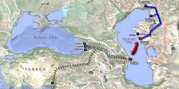 Казахстанско-Каспийская транспортная система