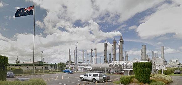 Газоперерабатывающий завод на месторождении Капуни в Новой Зеландии