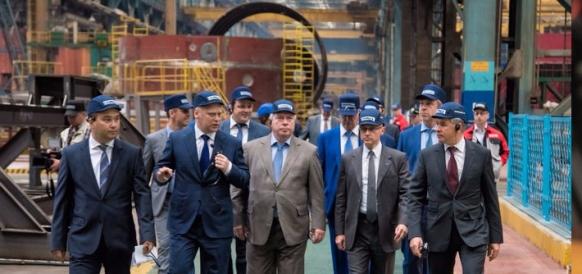 Сергей Кириенко на Атоммаше