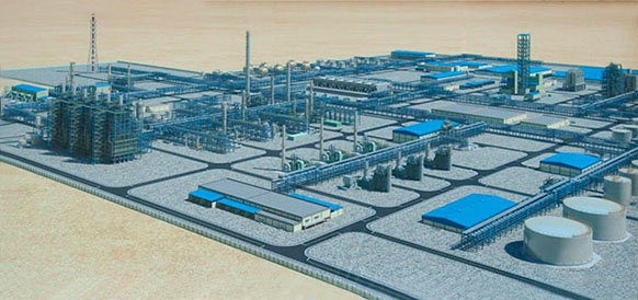 Проект Киянлынского ГХК в Туркменистане
