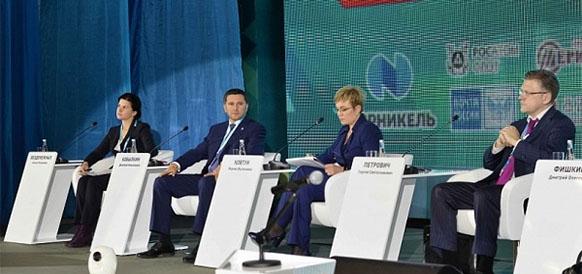 Глава ЯНАО Дмитрий Кобылкин на V Международной деловой неделе в Мурманске